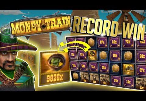 Record Slot Win Money Train I 10800x