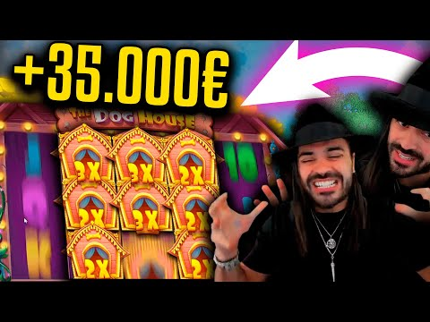 ROSHTEIN Huge Win 35.000€ on The Dog House slot – TOP 5 Mega wins of the week