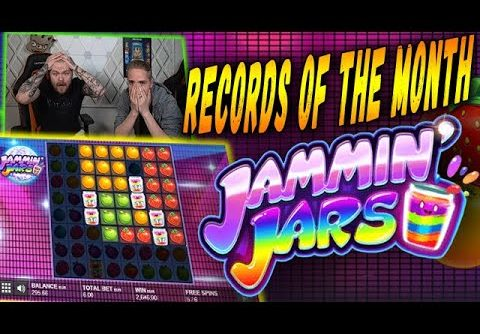 Huge Win! Jammin Jars Slot – Highscores of the Month! Online Casino! March!