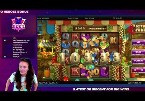 EXTRA CHILLI MEGA WIN PAYS XXXX?? BIG TIME GAMING SLOT – WINNING WHEN HUNGOVER