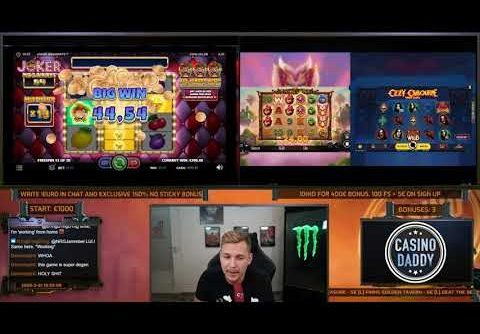 online slots – biggest wins of the week 21! insane big wins on online slots! twitch highlights!