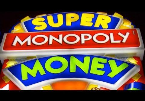 Super Monopoly Money Slot Machine Bonus-BIG WIN! MAX BET!