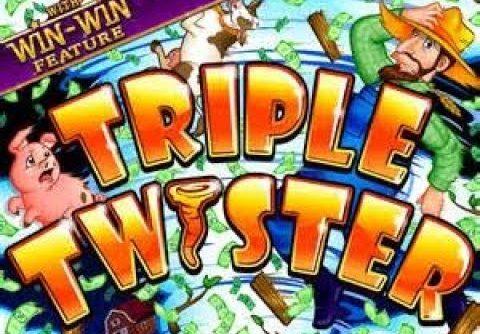 Mega win on Triple twister (RTG slot)