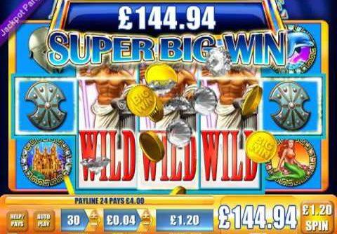 £251 SUPER BIG WIN (209 X STAKE) NEPTUNES FORTUNE™ BIG WIN SLOTS JACKPOT PARTY ONLINE