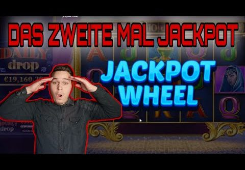 JACKPOT WHEEL DAS ZWEITE MAL!!!🔥 MEGA WIN / Online Casino Highlight