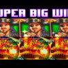 **SUPER BIG WIN!** RETRIGGER! Pirate Ship *WMS* Slot Machine Bonus Wins!
