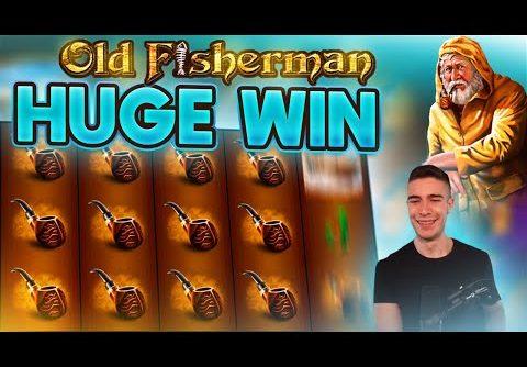 HUGE WIN ON OLD FISHERMAN SLOT