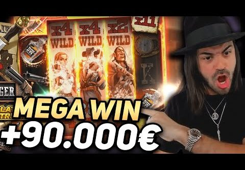 ROSHTEIN New Record Win 90.000€ on Deadwood slot – TOP 5 Mega wins of the week