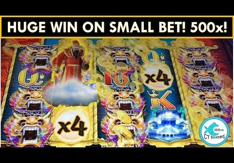 *HUGE WIN* Dragons of the Eastern Ocean Slot Machine – 500x!!!