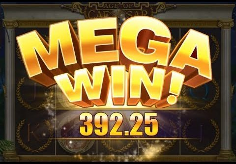 MEGA Win 87x on Age of Caesar Slot (4.5$ Bet)