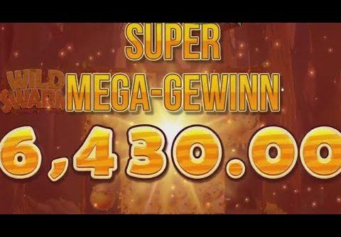 RECORD BIG WIN €36000 on Wild Swarm Slot // Online Casino Highlights #13