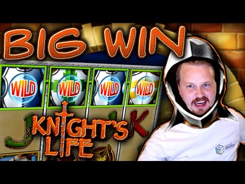 Big Win in Knight's Life slot!