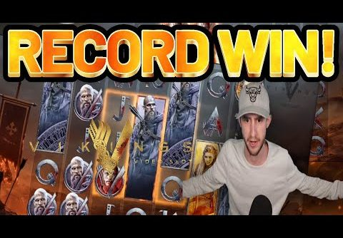 RECORD WIN!! VIKINGS BIG WIN from NetEnt – Online Slots from Casinodaddys live stream