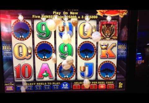 Banana King slot: Mega Win, Bonus retrigged with max bonus symbols: 1 of 2