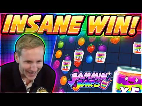 INSANE WIN! Jammin Jars Big win – HUGE WIN on Casino slot