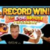 RECORD WIN!!!! DOG HOUSE 2 MEGAWAYS BIG WIN – EXCLUSIVE Casino Slot from Casinodaddy LIVE STREAM