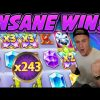 INSANE WIN! EUPHORIA BIG WIN –  Online Slots from Casinodaddy LIVE STREAM