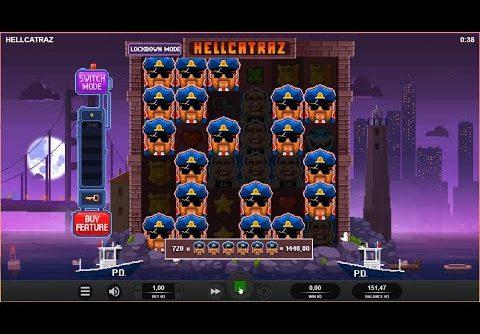 Hellcatraz Slot – Mega Win!