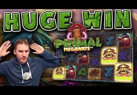 HUGE WIN on Primal Slot – £5 Bet!