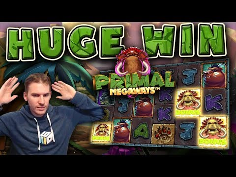 HUGE WIN on Primal Slot – £5 Bet!