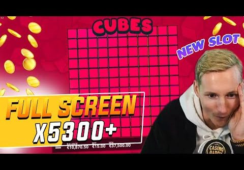 Streamer Record Win 40.000€  on Cubes slot – TOP 5 Mega wins of the week