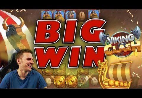 BIG WIN on Viking Clash Slot – £3 Bet