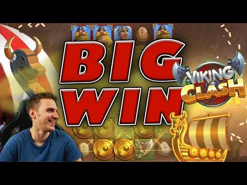 BIG WIN on Viking Clash Slot – £3 Bet
