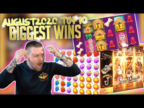 Top 10 Biggest Slot Wins Part 1 I August 2020 #35