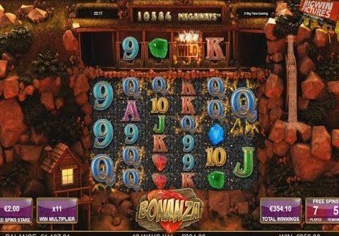 Bonanza Slot – MEGA WIN WITH 2€ BET!