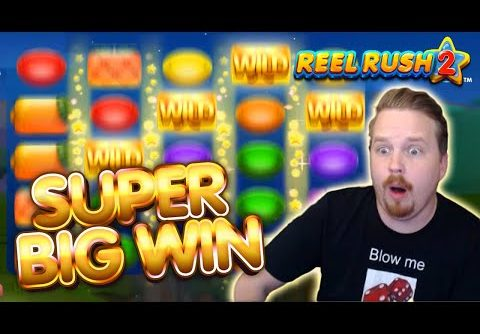 HUGE WIN on BIG BET – Reel Rush 2