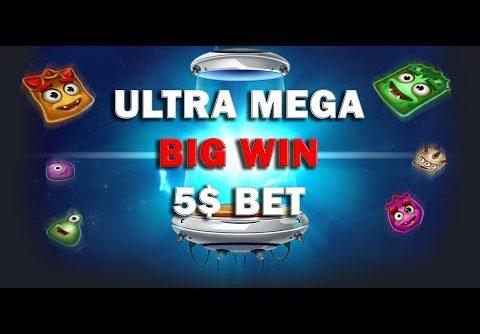 Reactoonz (PLAY N GO) Slot ULTRA MEGA BIG WIN ONLINE CASINO 5$ BET