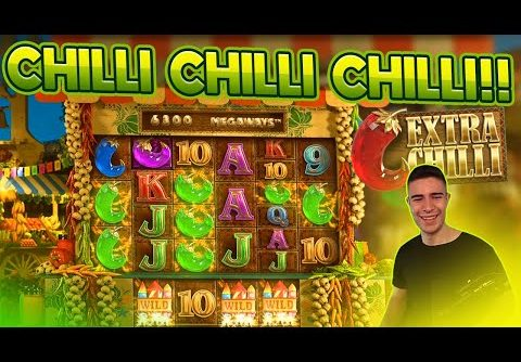 CHILLI CHILLI CHILLI!! | BIG WIN ON EXTRA CHILLI SLOT BY BIG TIME GAMING