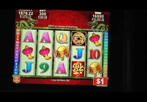$300.00 A Spin Max Bet Biggest Win China Mystery Ever!!! (Home Slot Play Not A Casino) Fantasy