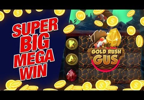 💵 SUPER BIG MEGA WIN 💵 on Gold Rush Gus Slot Online!!