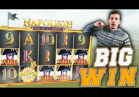 BIG WIN on Napoleon Slot – £10 Bet!