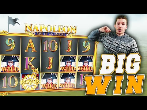 BIG WIN on Napoleon Slot – £10 Bet!