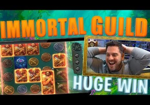 IMMORTAL GUILD SLOT HUGE BASE WIN! + INSANE EXCLUSIVE FREE SPINS GIVEAWAY!