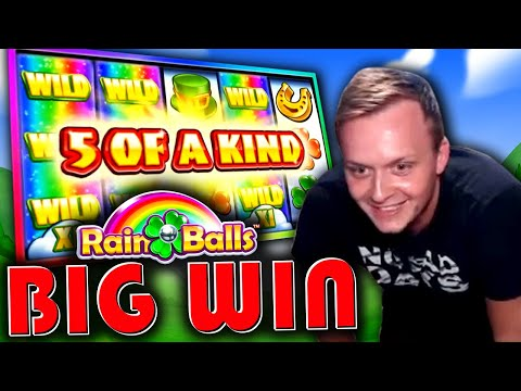 BIG WIN on Rainballs!