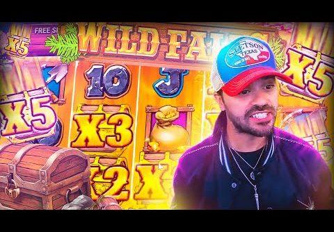 ROSHTEIN Big Win 20.000€ on Wild Falls slot – TOP 5 Mega wins of the week
