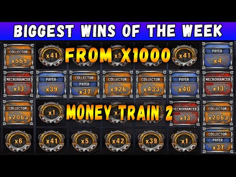 New biggest wins in Money Train 2 slot. Streamers biggest wins of the week!