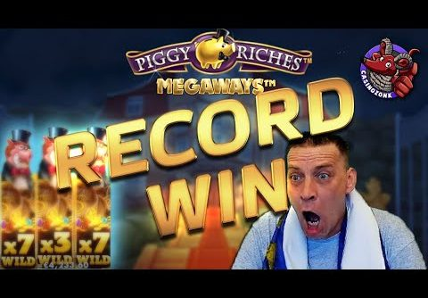 RECORD WIN – Piggy Riches Megaways