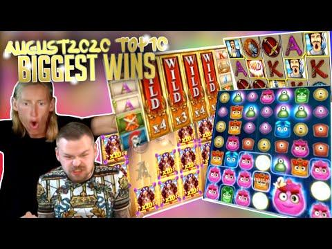 Top 10 Biggest Slot Wins Part 1 I August 2020 #33