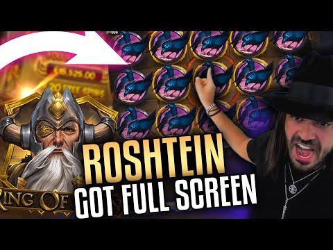 ROSHTEIN Mega Win on new casino slots – TOP 5 Mega wins of the week