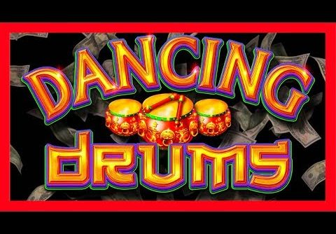HUGE WINS on DANCING DRUMS Slot Machine! MYSTERY PICKING! Fireworks For Days with SDGuy!