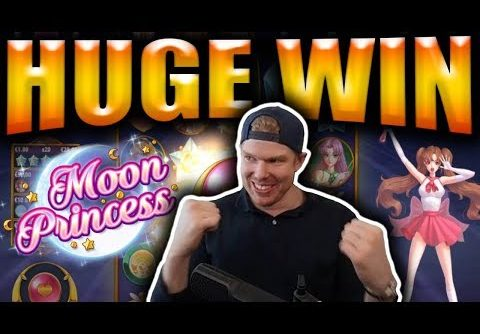 HUGE BIG WIN on MOON PRINCESS – Casino Slots Big Wins