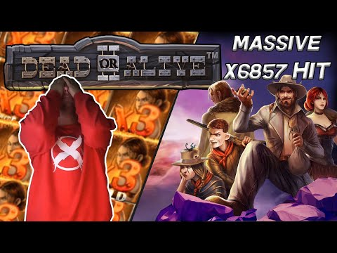 ONE OF MY BIGGEST WINS EVER! DEAD OR ALIVE 2 SLOT!