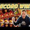 RECORD WIN! Da Vinci's treasure Big win – HUGE WIN on Casino slots from Casinodaddy