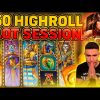 50€ HIGHROLL SESSION ON DOOM OF DEAD | BIG WINS ON PLAY N GO ONLINE SLOT MACHINE
