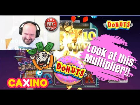 Big Multiplier!! Super Big Win From Donuts Slot!!
