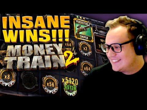 INSANE WINS on Money Train 2 (New Slot)